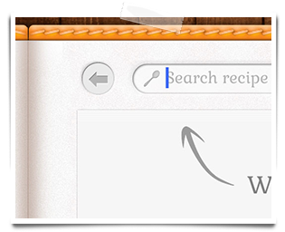 Choose what to cook and send the ingredients to your shopping list on your iPhone.